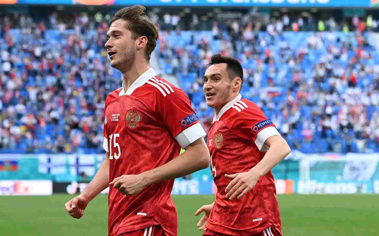 Russia-Danimarca
