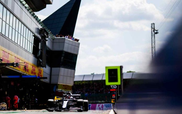Pole position GP Silverstone