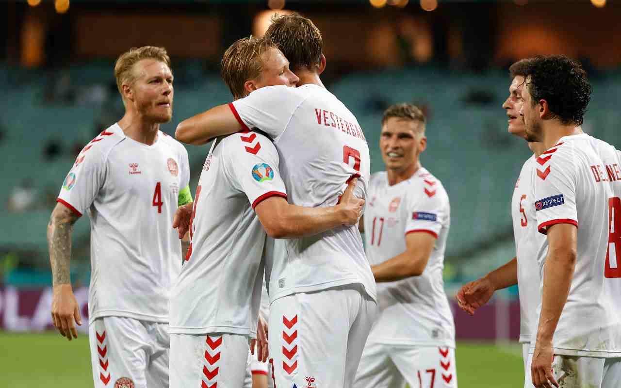 Inghilterra-Danimarca