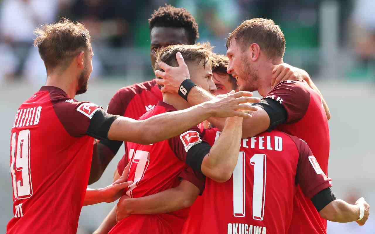 Arminia Bielefeld-Eintracht Francoforte