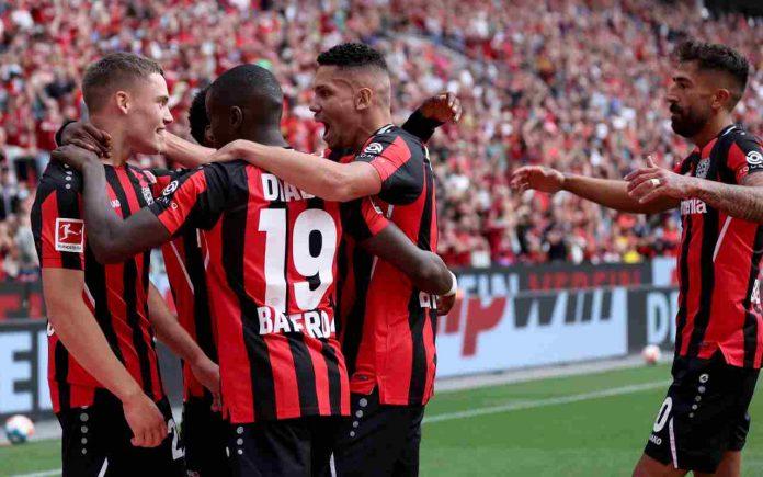 Arminia Bielefeld-Bayer Leverkusen