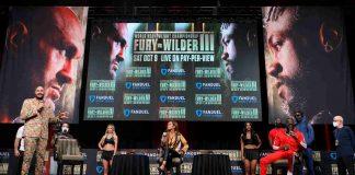 Tyson Fury-Deontay Wilder